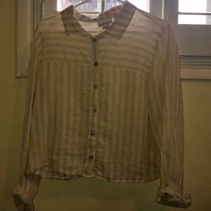 White and yellow top. NEVER WORN
